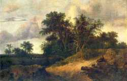 Landscape With A House In The Grove