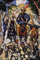Don Quixote - Seen From The Front - Paul CÈzanne