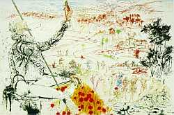 The Golden Age (Don Quixote) - Salvador Dali