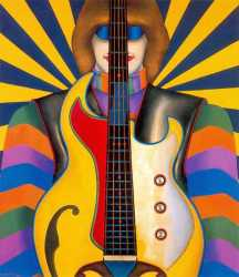 Rock Rock - Richard Lindner