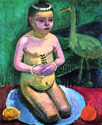 Child With Stork