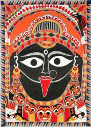 A Worshippable Image Of Mother Goddess Kali