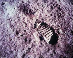 Apollo 11 Foot