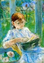 Portrait Of The Artist-s Daughter - Julie Manet