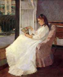 The Artist-s Sister At A Window