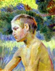 Boy Seated