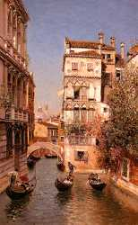 Along The Canal - Venice