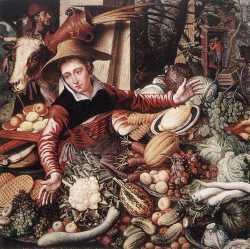 Vendor Of Vegetable