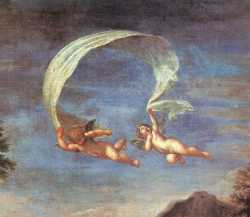 Adonis Led By Cupids To Venus