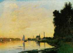 Argenteuil Late Afternoon - 1872