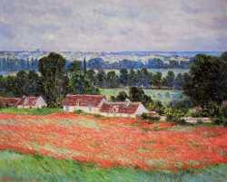 Field Of Poppies - Giverny - 1885
