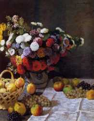 Flowers And Fruits - 1869