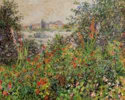 Flowers At Vètheuil - 1881