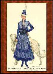 Fashion Plate Costume By Madame Jenny 1915