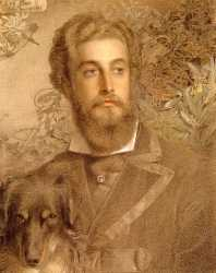 Portrait Of Cyril Flower - Lord Battersea