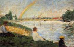 Bathing At Asnieres - Rainbow