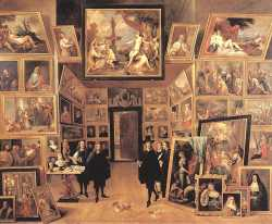 Archduke Leopold Wilhelm In His Gallery 1 - (1647)