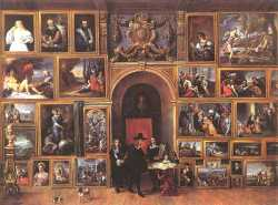 Archduke Leopold Wilhelm Of Austria In His Gallery 2