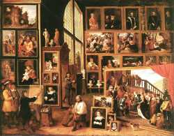 The Gallery Of Archduke Leopold In Brussels (1639)