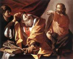 The Calling Of St Matthew 1616