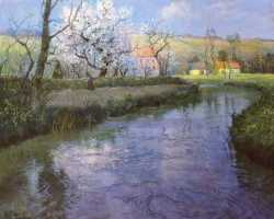 A French River Landscape