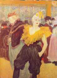 The Clowness Cha-U-Kao At The Moulin Rouge - 1895