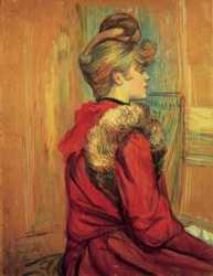 Girl In A Fur (Jeanne Fontaine)