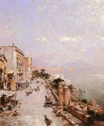 A View Of Posilippo - Naples