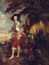 Charles I - King Of England - At The Hunt