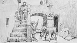 The Fable Of The Miller His Son And The Donkey No 1