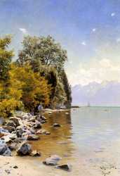 Fishing On Lac Leman