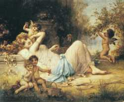 Venus And Her Attendants