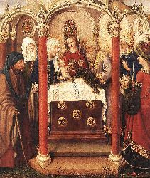 Altarpiece Of The Virgin 2