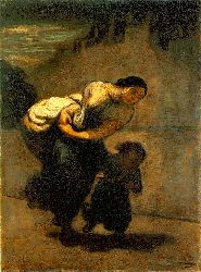 The Burden (the Laundress)