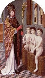 St Nicholas And The Schoolboys