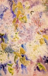 Allover Pattern Of Lilacs