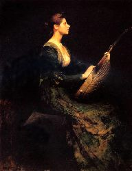 Lady With A Lute