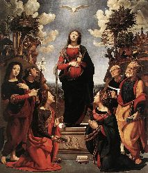 Immaculate Conception With Saints - 1505