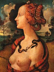 Portrait Of Simonetta Vespucci - 1480
