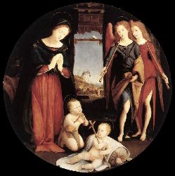 The Adoration Of The Christ Child - 1505