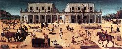 The Building Of A Palace - 1515-20