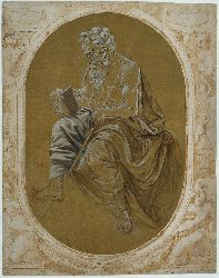 Study For A Reading Apostle Or Evangelist