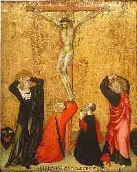 Crucifixion With Donor Jacopo Di Bartolomeo