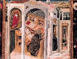 St Jerome Appearing To St Augustine