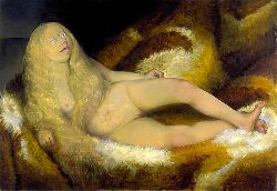 Nude Girl On A Fur - 1932