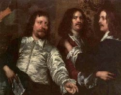 The Painter With Sir Charles Cottrell And Sir Balthasar Gerb