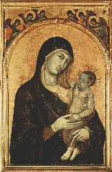 Madonna And Child With Six Angels