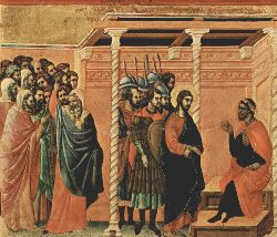 Pilate-s First Interrogation Of Christ