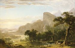 Landscape Scene From Thanatopsis