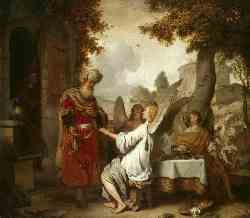 Abraham And The Three Angels - 1656